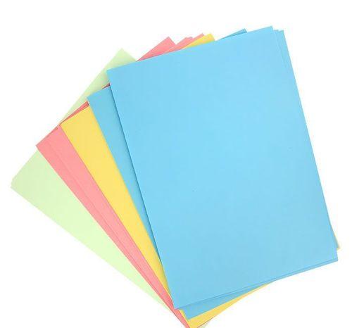 Варианты цветов бумаги
