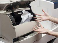 Принтер зажевывает бумагу