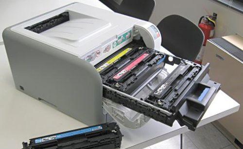 инструкция по замене картриджей в принтере