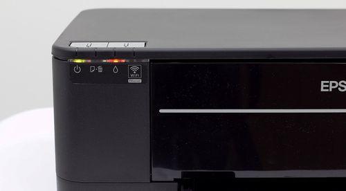 Красный индикатор на принтере