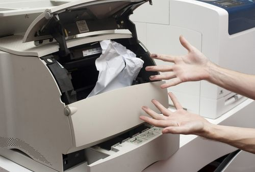 Замятая бумага
