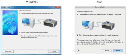 Способы как подключить принтер Canon