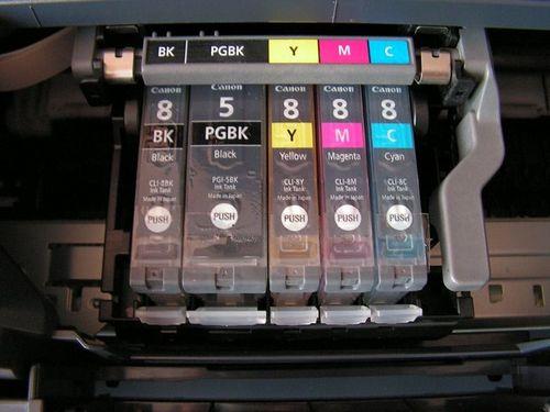 Картриджи струйного  принтера канон