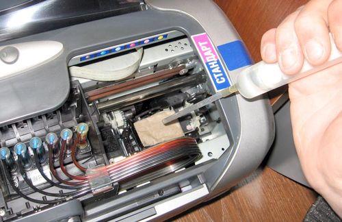 Ремонт принтера на дому своими 76