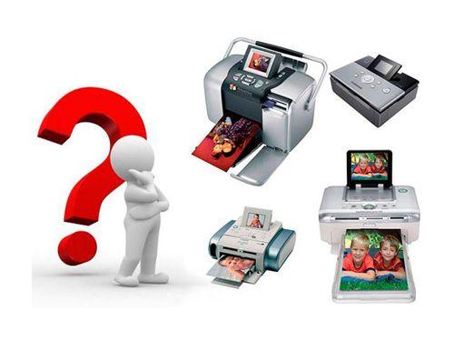 Выбор принтера для печати