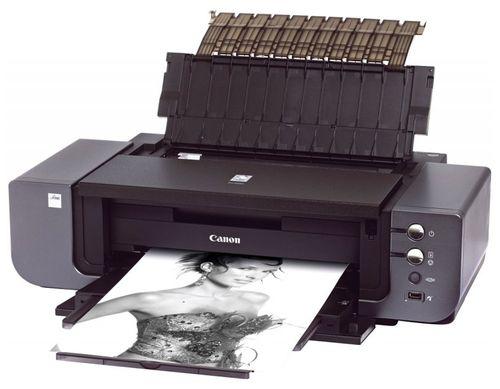 Печать фото на  Canon