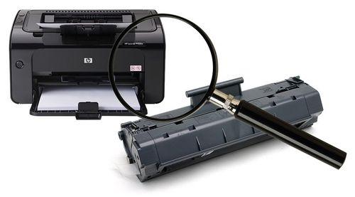Принтер HP не видит картридж