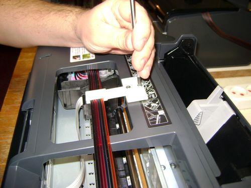 Разборка принтера