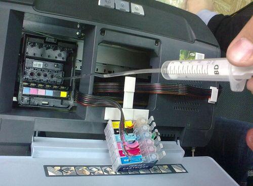 Чистка головки принтера