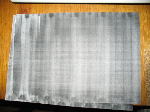 Печать полосами