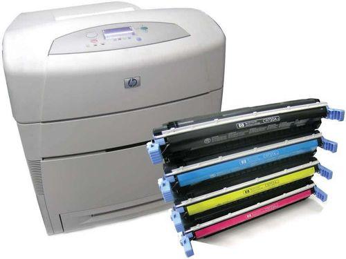 Принтер и новые картриджи