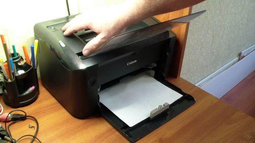 Перезапуск принтера