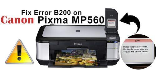 Ошибка принтера B200