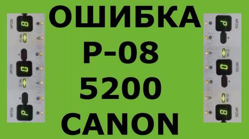 Распространенные ошибки принтера MG2440