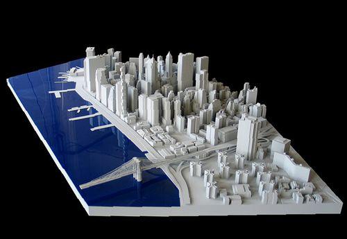Город со зданиями