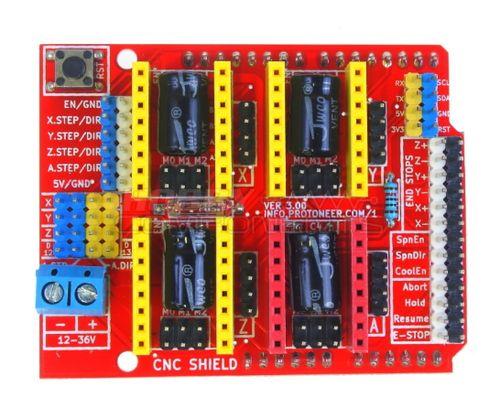 Плата Arduino CNC Shield v3.02
