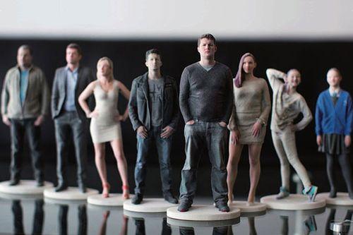 Печать фигурок людей на 3d принтере