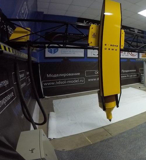 Строительный принтер трехмерной печати модель S-6043