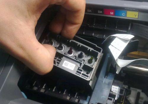 Снятие головки принтера