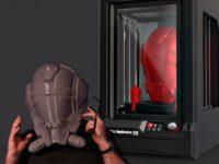 Пример печати на 3d принтере Makerbot Replicator Z18
