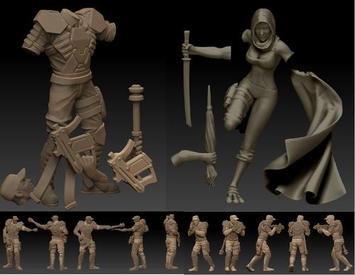 Варианты 3d моделей для печати на 3d принтере