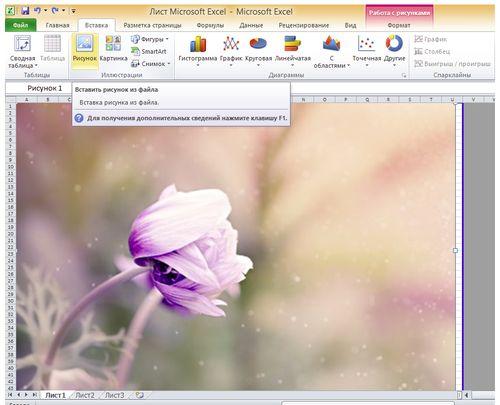 Печать плаката на листах в программе Microsoft Excel