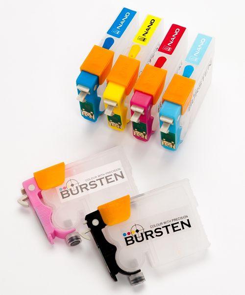 Перезаправляемые нано-картриджи BURSTEN