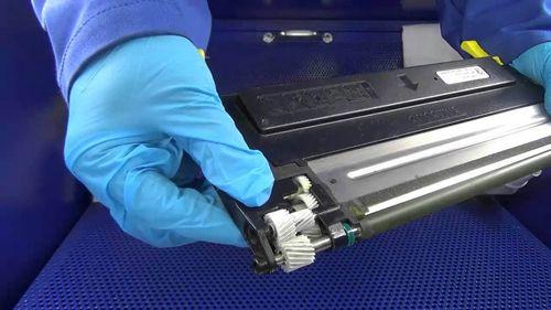 Kyocera FS-1040 заправка картриджа