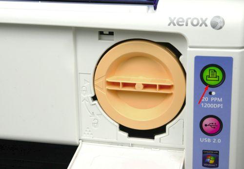 Зеленый индикатор принтера Phaser 3010