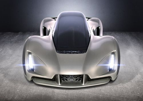 Автомобиль Blade сделанный на 3д принтере