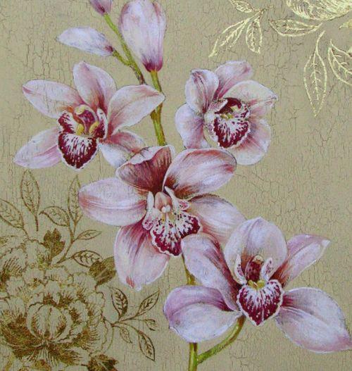 Декупаж в стиле прованс цветы