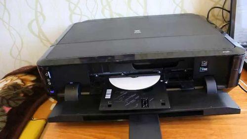 Диск в принтере