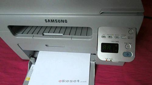 Обзор функций и установка принтера Samsung SCX-3400