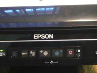 Панель управление принтера Эпсон