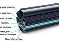 Строение фотобарабана