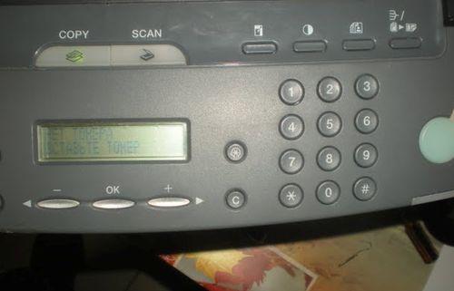Неисправности в принтере