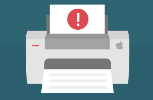 Принтер не печатает и пишет, что документ в очереди