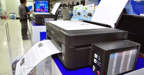 Печать документа на принтере