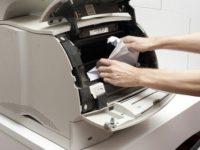 Замятия бумаги в принтере