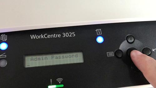 Админ-панель принтера