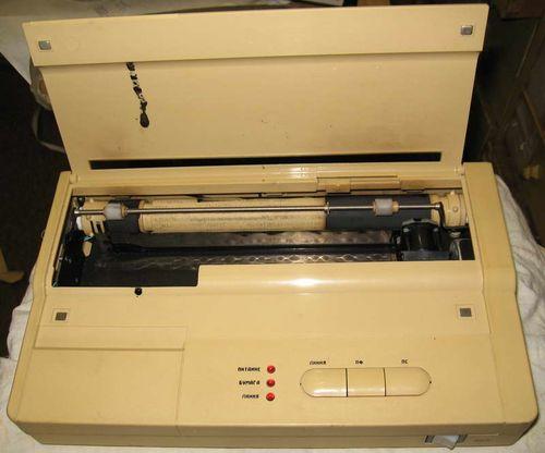 Струйный старый принтер