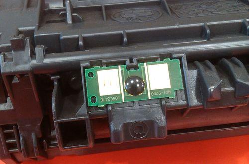 Как обнулить чип на картридже принтера