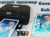 Пищевой принтер Canon Cake MG5600