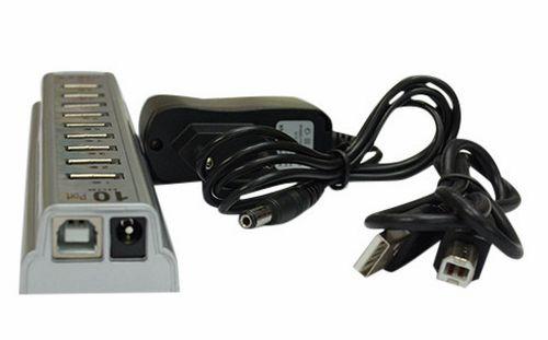 Подключение через USB-разветвитель