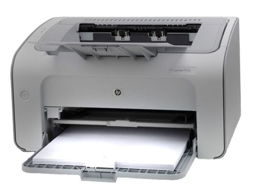 принтер выдает чистые листы