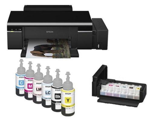 Обзор принтера Epson l800: драйвера, картриджи и характеристики