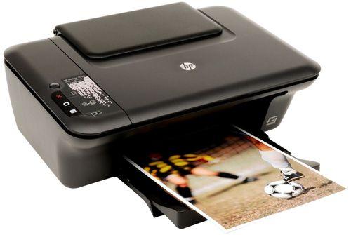 Печать на принтере HP