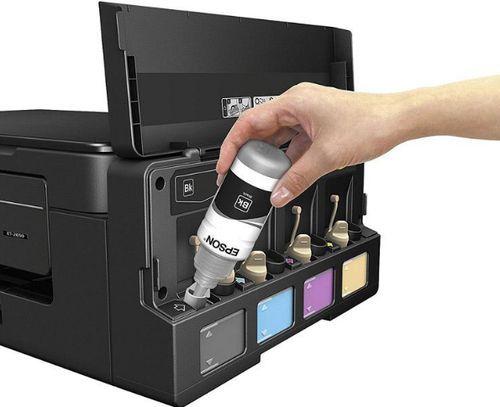 Заправка принтера чернилами