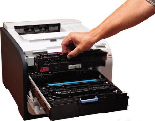 Как починить, если принтер оставляет белую полосу