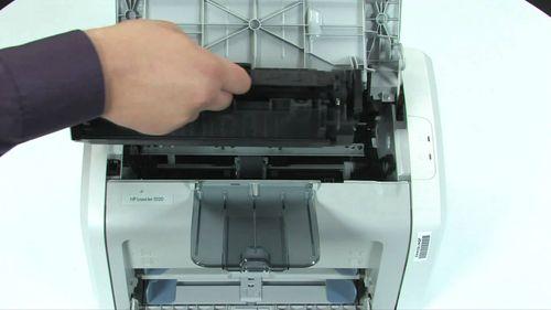 Разборка принтера HP LaserJet 1010